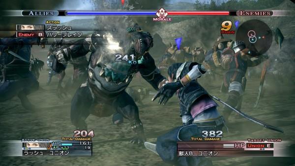 The Last Remnant Battle Screenshot