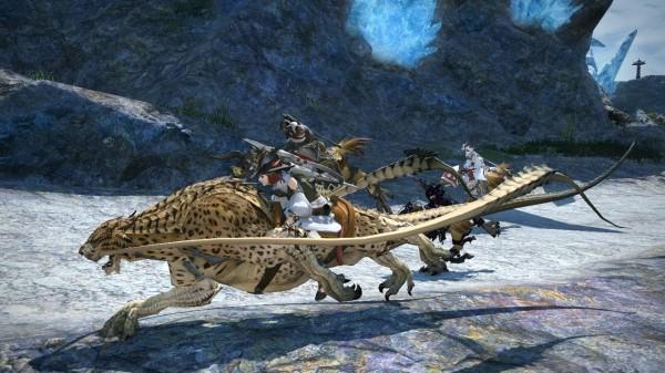 Final Fantasy XIV Personagens e Montarias
