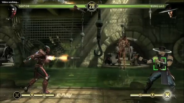Mortal Kombat 9 - Sektor Vs Kung Lao