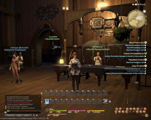 Final Fantasy XIV A Realm Reborn City
