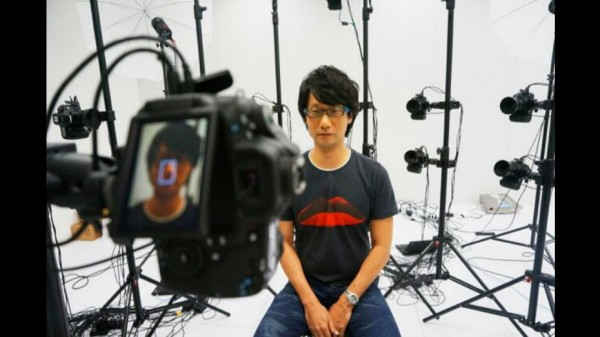 Hideo Kojima Captura de Movimentos