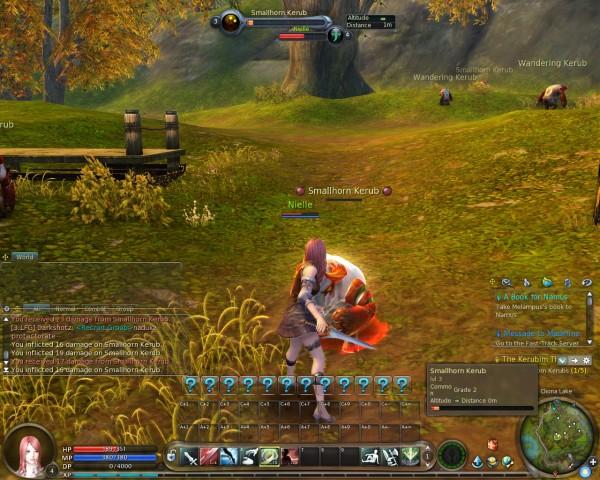 Aion Screenshot - Scout - Combat