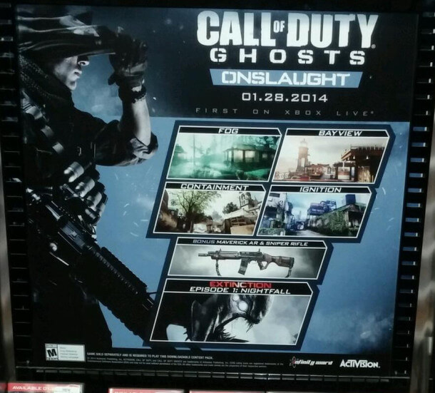 Call of Duty: Ghosts - Onslaught - Poster
