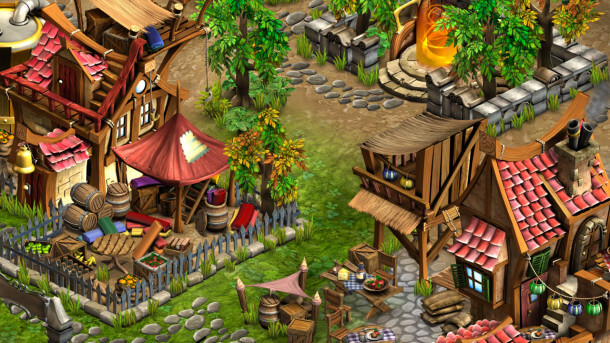 Rainbow Skies - City Screenshot - EastAsiaSoft - Sidequest