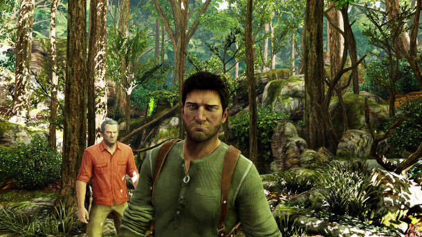 Uncharted 3 - Forest Screenshot