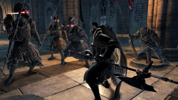 Dark Souls II - Battle With Statue Knights