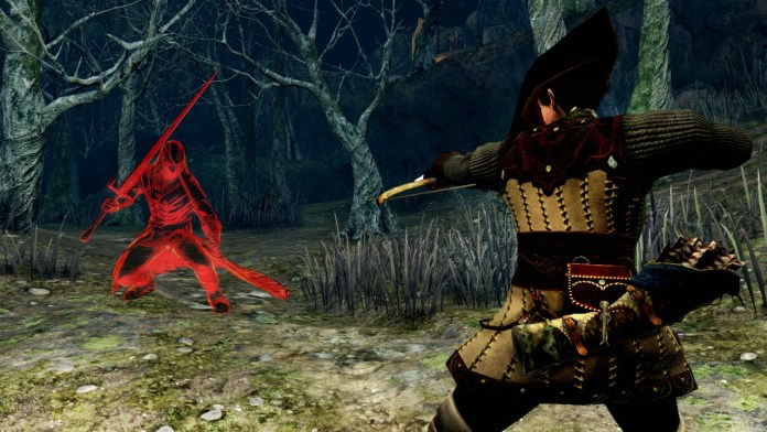 Dark Souls II - Black Phantom PvP Screen