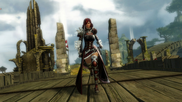 Guild Wars 2 - WvW - Tournament Mists - Human Woman
