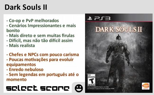 Select Score - Dark Souls II - PS3