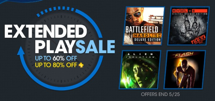 PSN Store - Extended Sale - Hardline e Evolve - Index