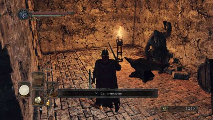 Dark Souls II - Bastilha Perdida - Oficina de McDuff