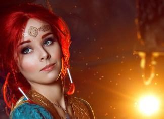 Triss Merigold Cosplay - The Witcher 3 - Por Helly Von Valentine Index