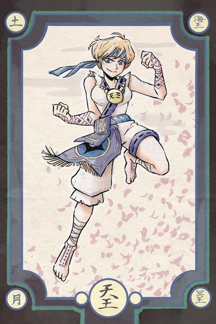 Sailor Moon - Ainu Warrior Uranus - Samurai Style
