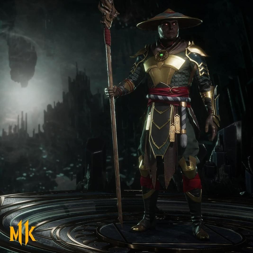 Raiden em Mortal Kombat 11