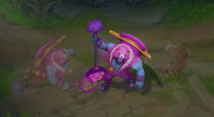 Nova skin de Yorick em League of Legends - Meowrick 02