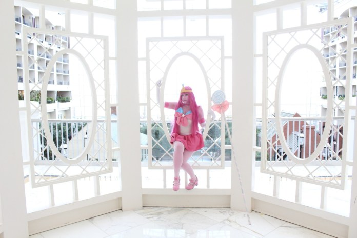 Cosplay da Princesa Jujuba em estilo Sailor Moon - Adventure Time - Foto 2