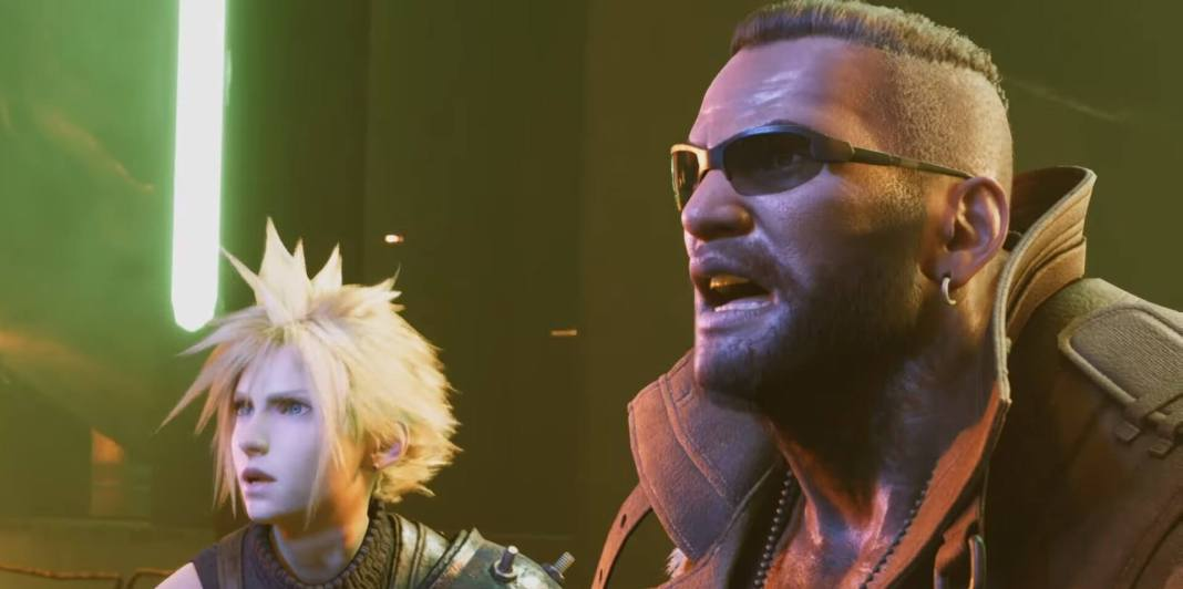 Final Fantasy VII Remake - Cloud e Barrett