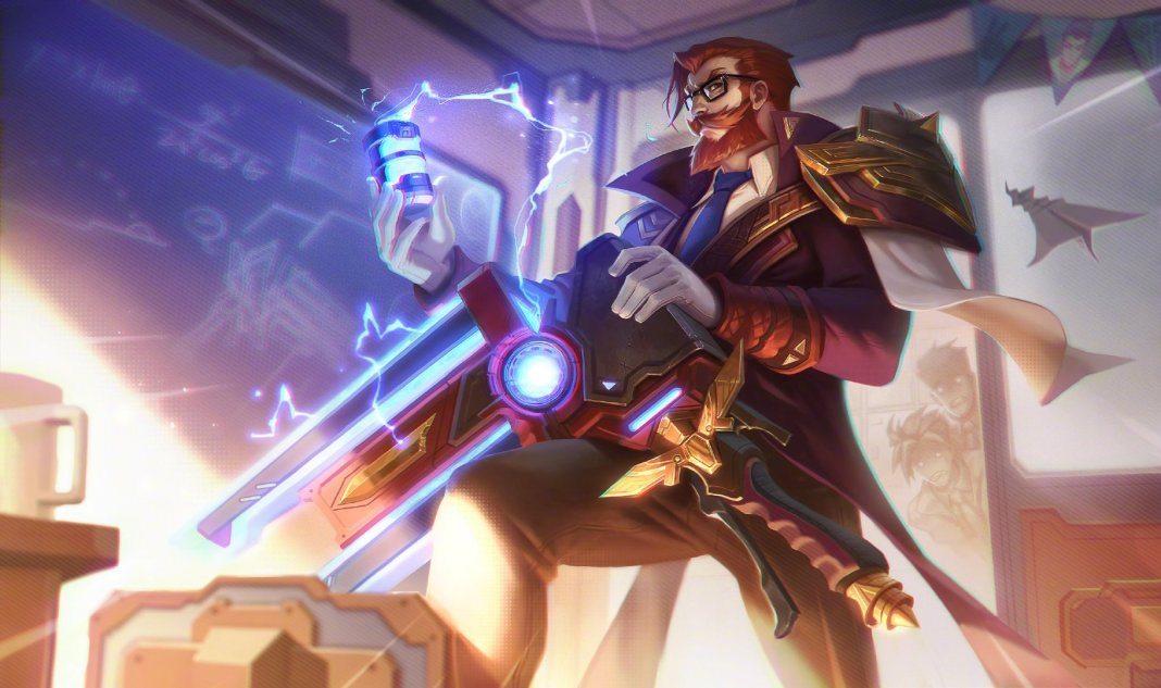 League of Legends - Graves Academia de Batalha