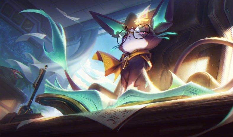 League of Legends - Yuumi Academia de Batalha