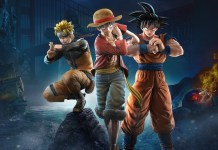 Jump Force - Luffy, Goku e Naruto