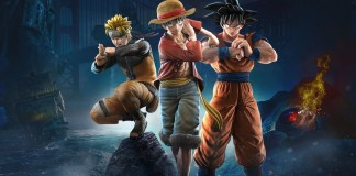 Jump Force - Luffy, Goku e Naruto