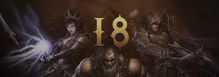 Diablo III - Temporada 18 - Banner com as classes