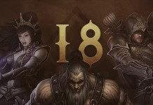 Diablo III - Temporada 18 - Banner com as classes