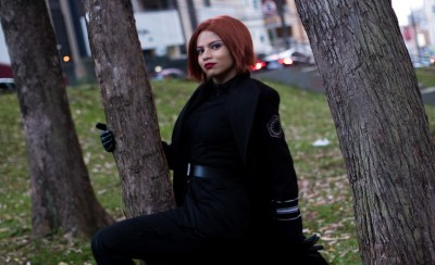 A versão feminina do General Hux neste belo cosplay de Star Wars