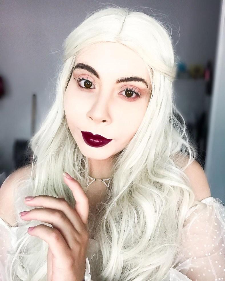 Cosplay da Rainha Branca, de Alice