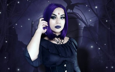 Lindo cosplay da Ravena Capa