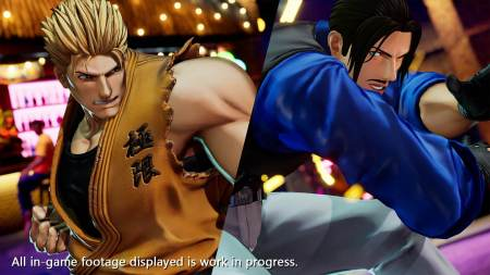 The King of Fighters XV - Ryo Sakazaki vs Robert Garcia