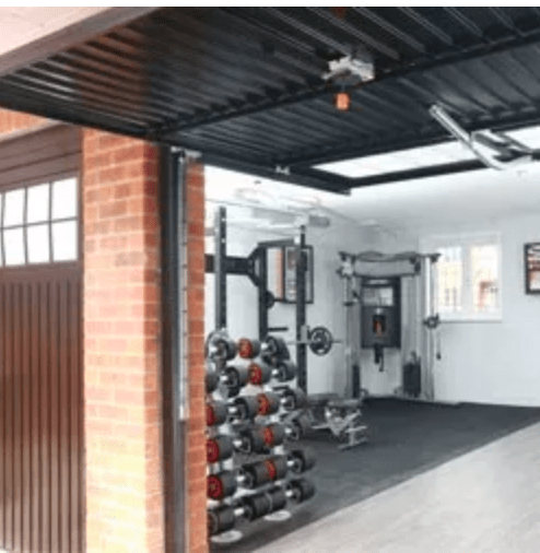 Converting Your Garage Into A Home Gym Select Garage Doors
