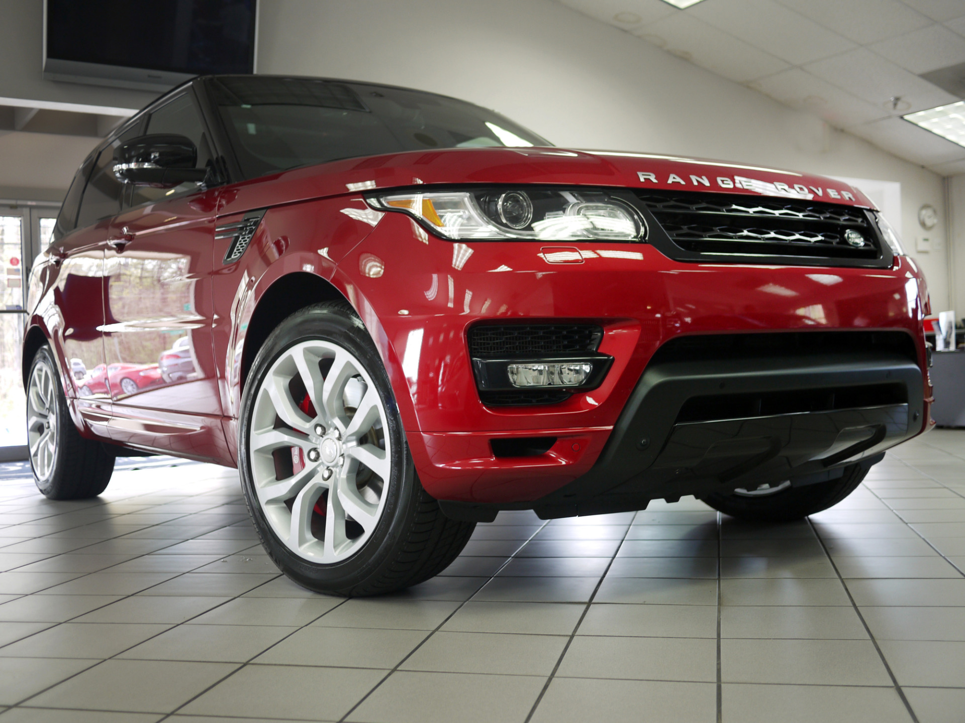 Used 2014 Land Rover Range Rover Sport 5 0L V8 Supercharged