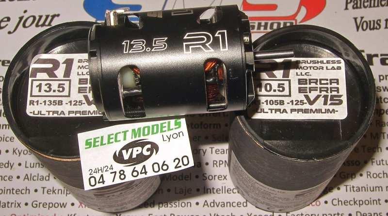 Moteurs R1 13.5 et 10.5