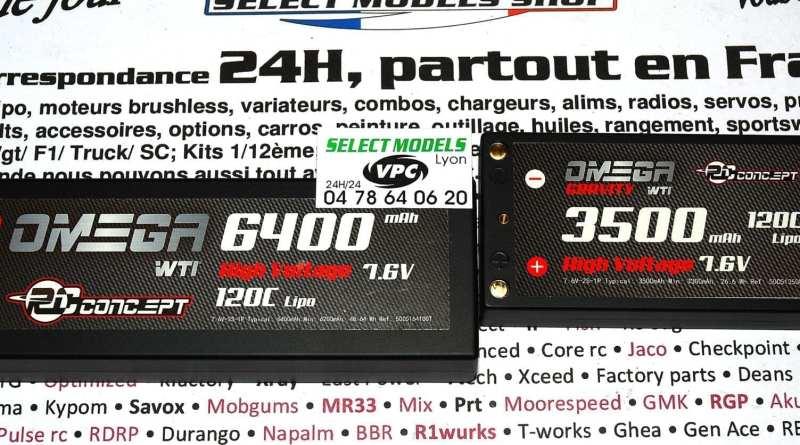 Omega 6400 et 3500 120c hv