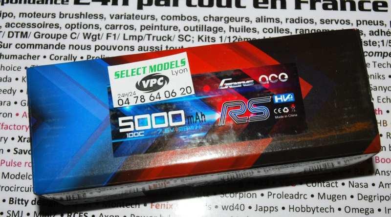 Gens-Ace RS 7.6V 5000 et 6000