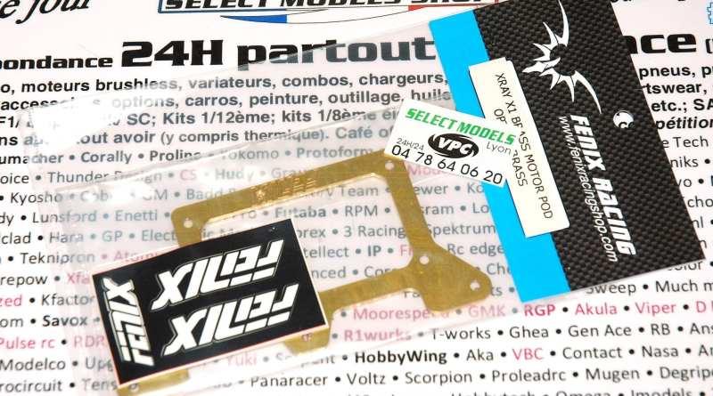 Plaque ar inf laiton Fenix pour X1