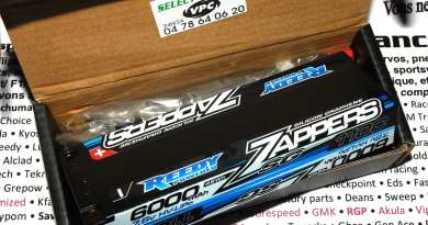 Reedy zappers sg 6000 7.6V 110c 5mm