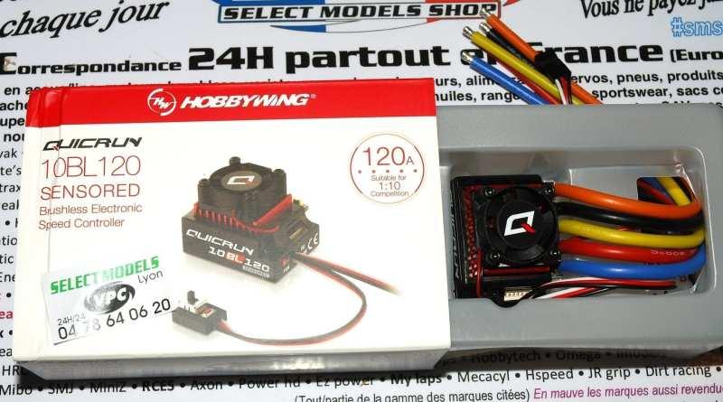 Hobbywing quicrun 120A sensored