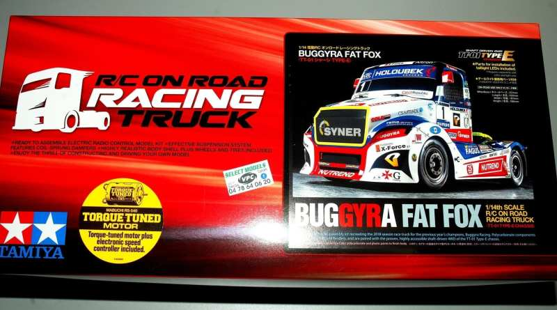 BUGGYRA racing truck Tamiya