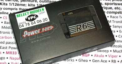 Servo power hd 1/12ème R6
