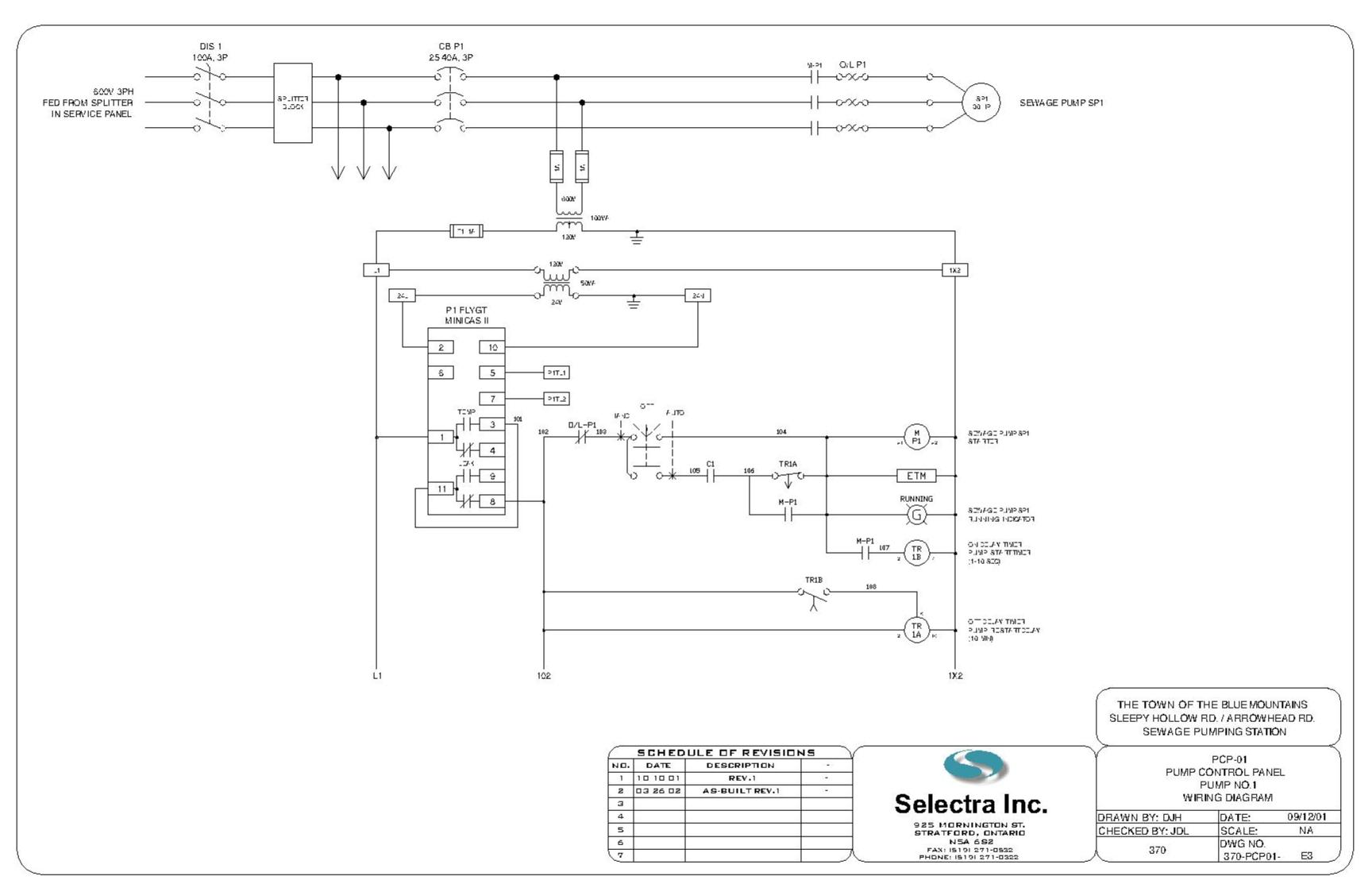 wiring diagram contactor float switch well pump float