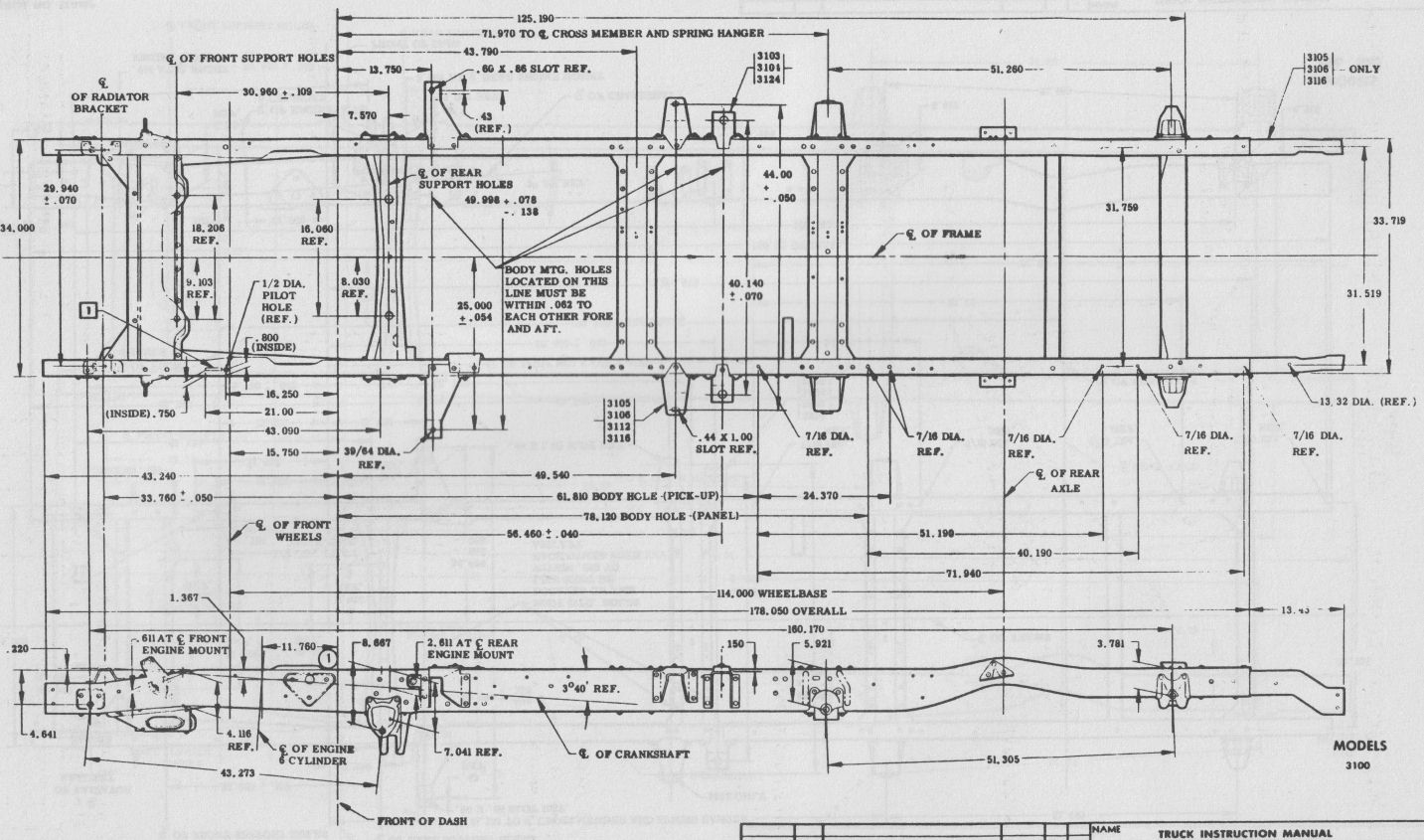 hight resolution of chevy gmc truck frame diagram page 3 the 1947 present chevrolet large truck suspension parts diagrams