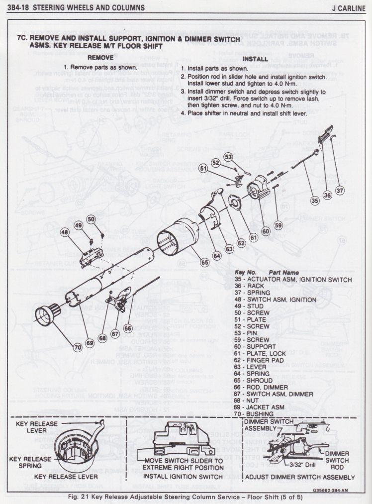 Buick Riviera Steering Column Wiring Diagram. Buick. Auto