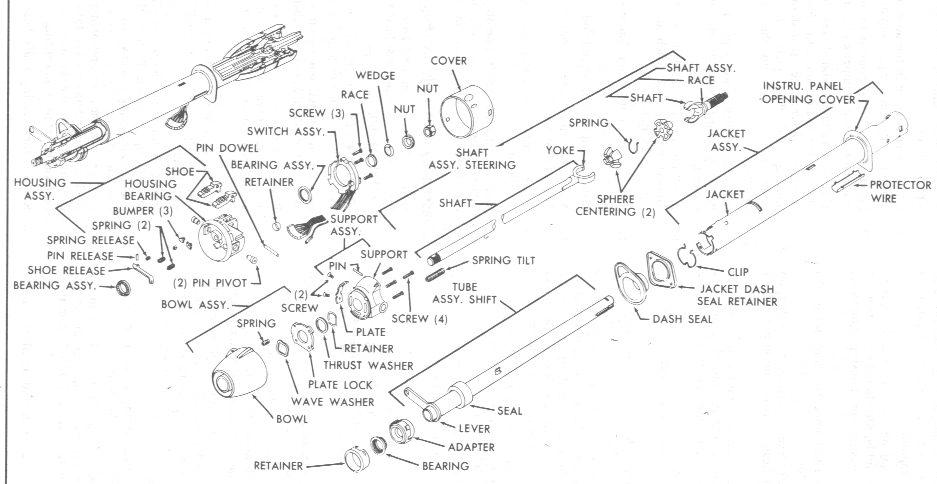 Wiring Diagram For Ididit Steering Column