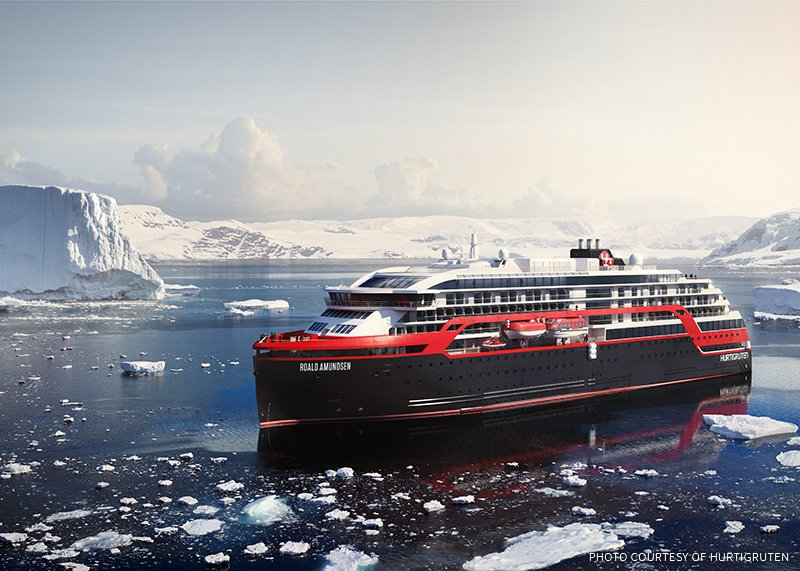 HURTIGRUTEN BUILDING UP TO FOUR NEW SHIPS