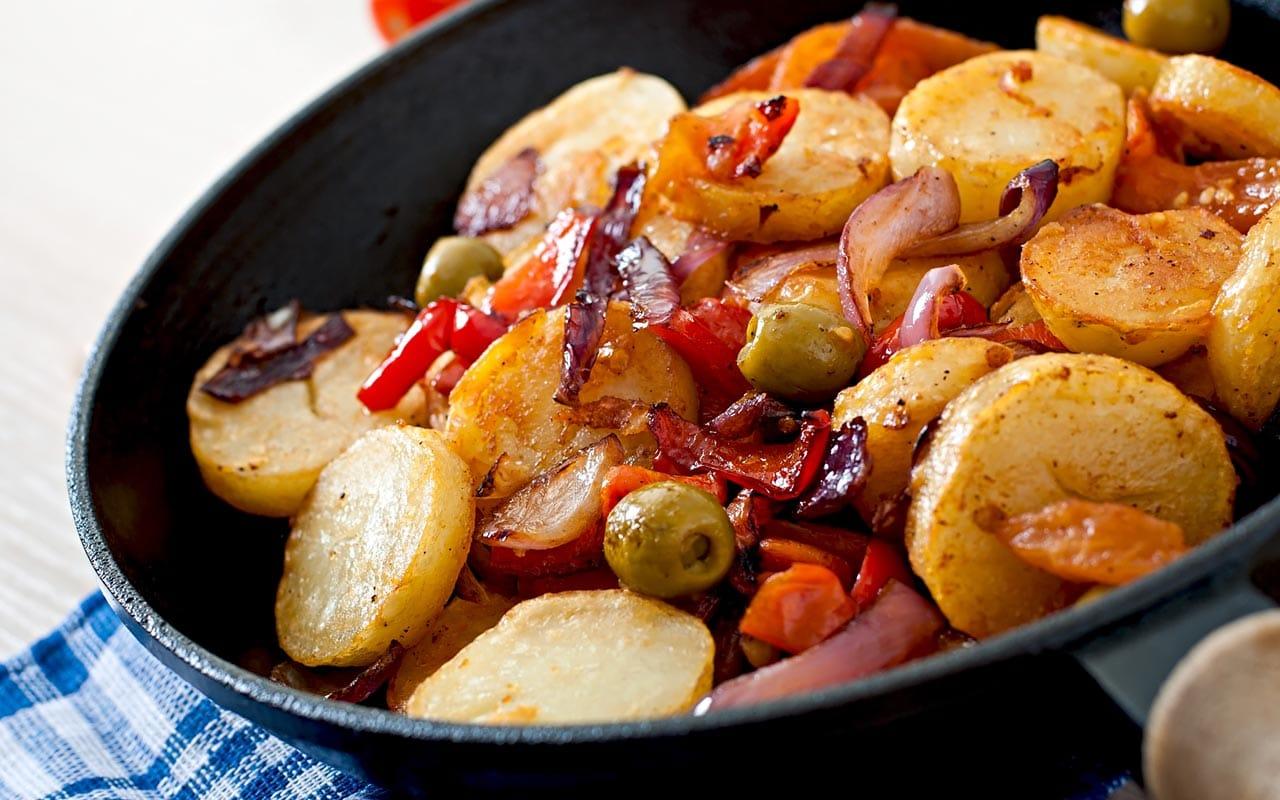 Ricetta Patate al forno con verdure sfiziose  Selenella