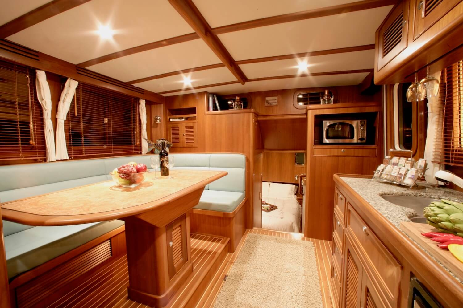 The Biggest 38 Family Aft Cabin Cruiser In The World