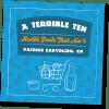 Terrible Ten booklet