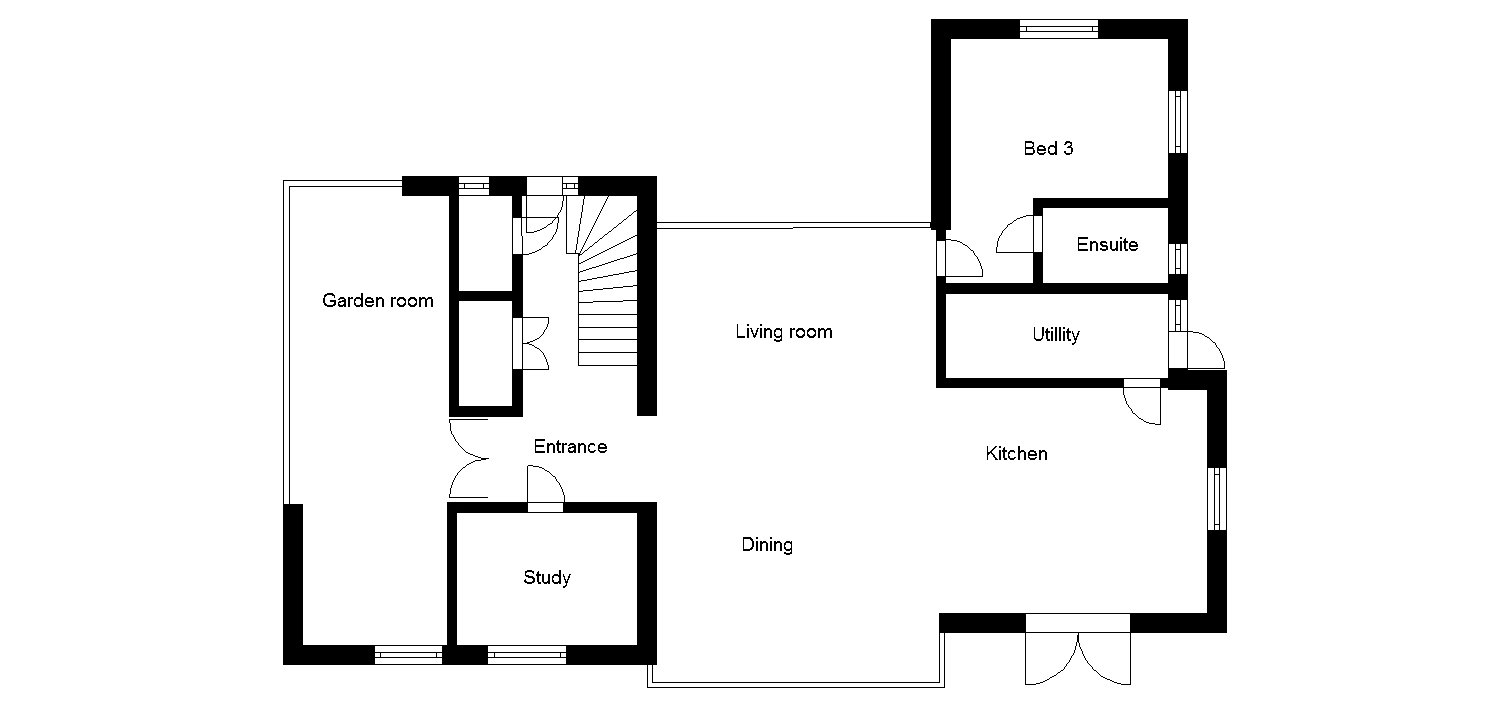 House Plans: Modern Self-Build with Low Running Costs